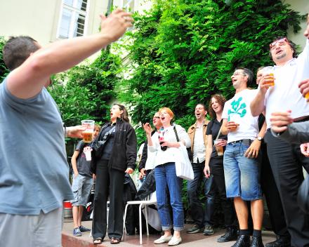 Stemming zit er goed in tijdens concert in Paleis Liechtenstein