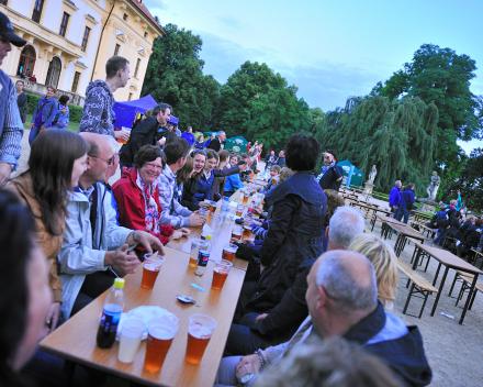 Ons Festival Austerlitz, naast concerten ook veel informeel vermaak