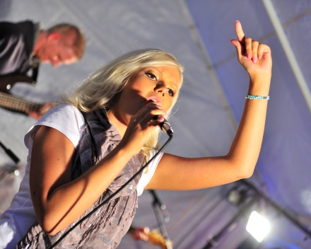 Avondprogramma met live muziek Festival Austerlitz
