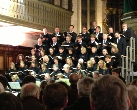 Het concert in de Dom van Regensburg