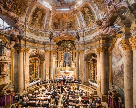 Concert in het benediktijnerklooster Weltenburg