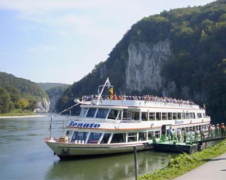 Klaar voor een bootvaart naar de Donaubruchbruch en klooster Weltenburg