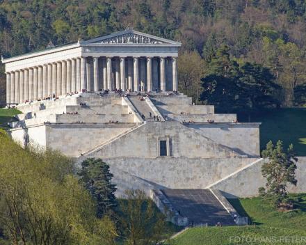 Griekse eretempel als ode gebouwd aan kunst en cultuur