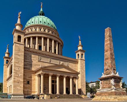 koorreis berlijn. Concert in de Nikolaikirche van Potsdam