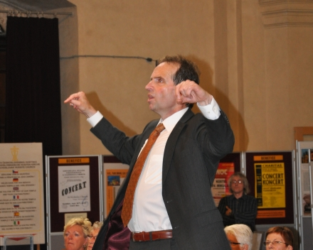 Dirigent Gezinus Veltman