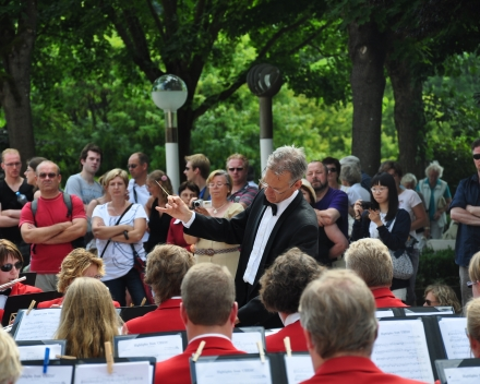 Concert tijdens ons festival in Praag