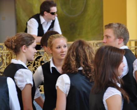 Duits Jeugdorkest Gymnasium Festival Praag