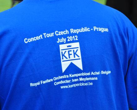 Koninklijke Fanfare Kempenbloei Achel op concertreis met ons
