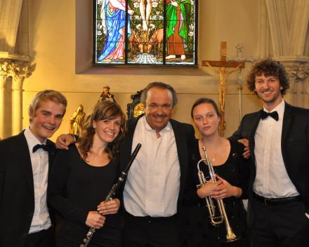 Koorreis Wenen, concert in de Kapuzinerkirche centrum Wenen