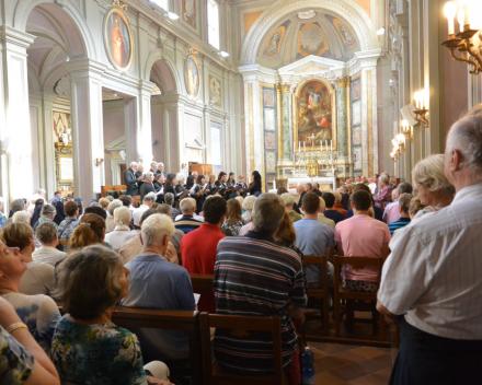 Concert in de Friezenkerk Moderato Cantabile o.l.v. Nana Tchikhinashviliorreis Rome