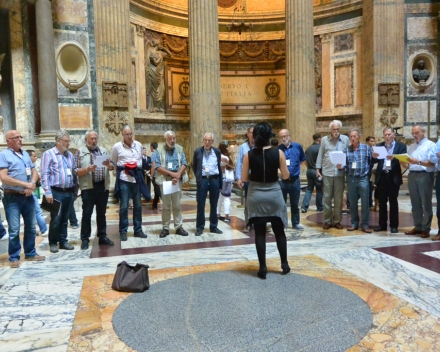 Koorreis Rome Concert in de St. Pieterbasiliek: Moderato Cantabile o.v.l. Nana Tchikhinashvili