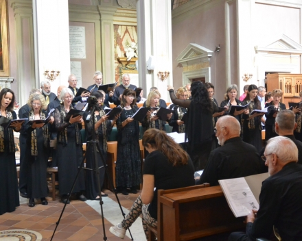 Concert in de Friezenkerk in Rome
