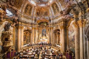 Uw prachtig concert in de kloosterkerk van Weltenburg