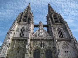 Zingen in de Dom St. Peter in Regensburg