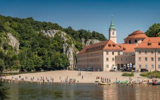Bezoek aan Benediktijnerklooster Weltenburg