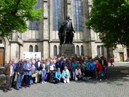 Koorreis van COV IJmuiden naar Leipzig en Dresden