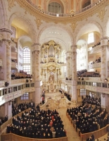 Concert in de Frauenkirche in Dresden