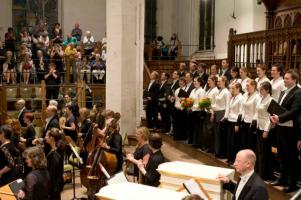 concert met symfonisch orkest in Leipzig