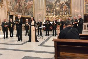 Concert in de Santa Andrea Della Valle