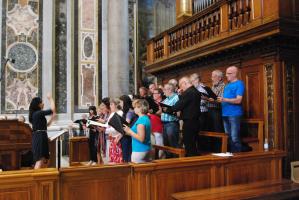 Concert in de st. Pieter te Rome Moderato Cantabile