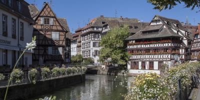 """Petite France' in Straatsburg"
