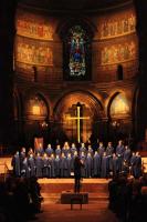 concert in de Cathedrale 'Notre Dame' van Straatsburg, avondconcert
