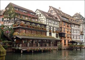 Deze wijk van Straatsburg staat bekend als Petite Venise