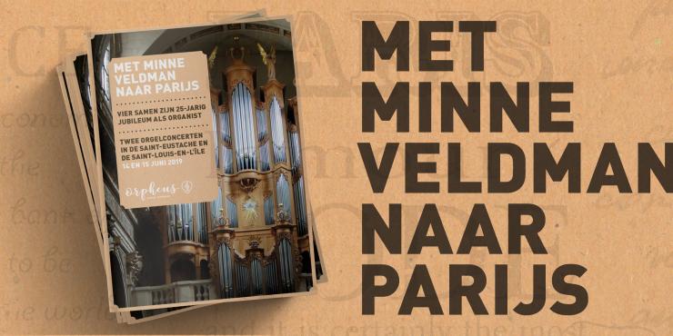 Vier samen met Minne Veldman zijn 25-jarig jubileum in Parijs. 14 en 15 juni '19